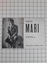 ENZO MARI GALLERIA DEL NAVIGLIO MILANO 1968