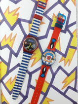 TWO SWATCH NATHALIE DU PASQUIER