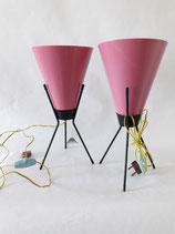 PINK ITALIAN LAMP  50 S