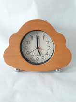 WOOD TABLE CLOCK CARLO GIANNINI