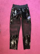 Black Lacquer Raver Pants