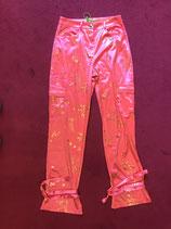 Pink Satin Combat Trousers