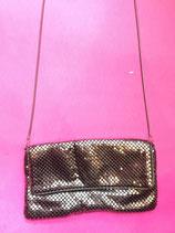 Silver Metallic Party Bag
