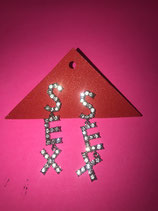 Rhinestone Sex Earrings
