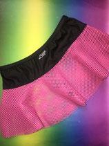 Pink Vinyl Mini Skirt