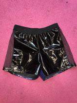Black Lacquer Raver Short