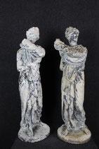 COPPIADI ANTICHE SCULTURE IN CONGLOMERATO XIX SEC.