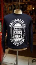 """Sudadera """"Universidad de Cadi-Cadi"""" de SKaYLINE. Color azul marino"""