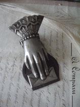 Dekorative antike viktorianische Briefklammer England