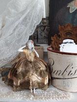Antike große Teepuppe Porzellan aus Frankreich