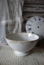 Sooo shabby: Uralte große Keramik Bol aus Frankreich