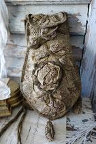 Seltene antike Handtasche / Beutel Frankreich Ende 19. Jahrhundert
