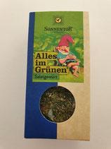 Alles im Grünen Salatgewürz von Sonnentor 15g