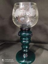 Bicchiere in vetro soffiato
