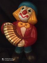 thun clown con fisarmonica