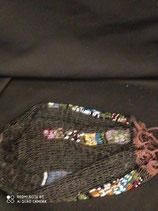 Portamonete da donna in perline di vetro