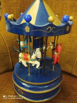 Natale carillon in legno.