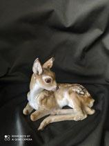 Hutschenreuther cerbiatto in porcellana