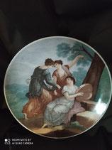 Bavaria Waldsassen piatto allegorico