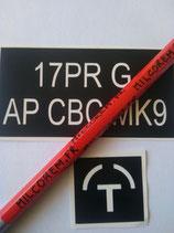 po 17Pr ATK APCBC-T MK-9/T (GB) obus