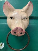 Handtuchhalter Schwein