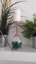 Kerzenständer grün