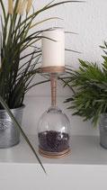 Kerzenständer lila