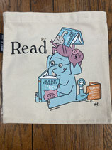 Elephant and Piggie Read Kid's Tote Bag