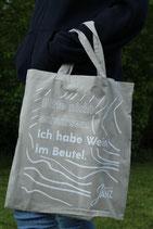 """Stofftasche: """"Bitte nicht schubsen"""""""