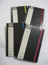 Agenda - Note 2020 Settimanale Ivory Collection Black Color 13x21 cm, Copertina Rigida