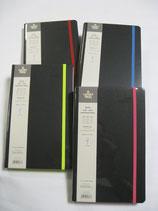 Agenda - Note 2019 Giornaliera Ivory Collection Black Color 13x21 cm, Copertina Rigida