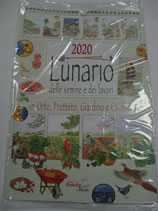 CALENDARIO LUNARIO 2020 DA PARETE F.TO 39X27 CM