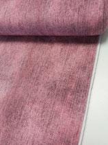 French Terry pink/beere im Industrie Look, Grundpreis: 19,90€/m