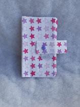 Muki Hülle Sterne Lila-Rosa-Pink