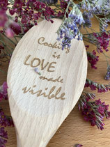 Gepersonaliseerde houten lepels