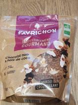 Favrichon chocolat noir et coco 4750g