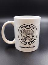 "Kaffeetasse ""Fridays for Fishing"" 300ml"