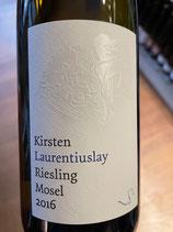 2016 Riesling Laurentiuslay, Weingut Bernhard Kirsten, Klüsserath, Mosel, 0,75ltr.
