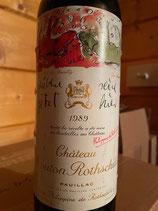 1989 Chateau Mouton-Rothschild, Pauillac, Bordeaux 0,75 ltr.