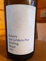 2017 Riesling von Geldern Pur, Weingut Bernhard Kirsten, Klüsserath, Mosel, 0,75ltr.