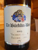 2003 Riesling PC Wachenheimer Rechbächel, Weingut Bürkling-Wolf, Wachenheim, Pfalz, 0,75ltr.