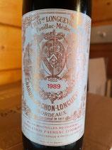 1989 Chateau Pichon-Baron, Pauillac, Bordeaux 0,375 ltr.