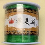 China Knüpfgarn - Grün (1 Rolle)