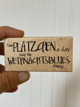 Stempel Weihnachtsblues