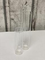 Reagenzglas mit Flachboden versch. Größen
