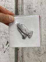 Wachs Dekorationsteil Betende Hände