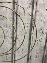 Metallring gold beschichtet verschiedene