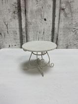 Gartentisch rund Metall