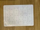 Puzzel weiß A4
