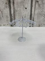 Schirm auf Ständer Metall